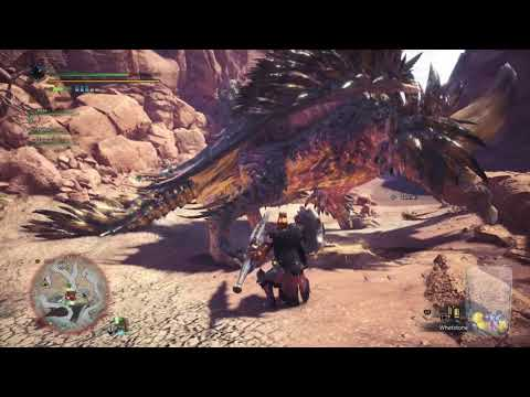 Monster Hunter World [PS4 Beta] -  First Time VS Nergigante