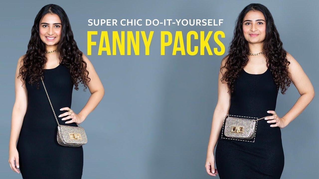 f950f7e6f84 How To Convert A Crossbody Bag To Fanny Pack