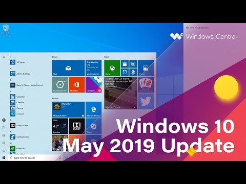 Windows 10 May 2019 Update - Official Release Demo (Version