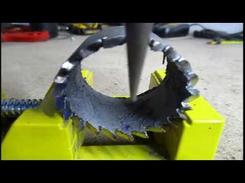 HOLE cutter WOOD | Homemade Hole Cutter | hole cutter 2.0