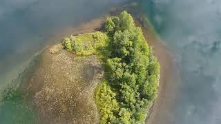 Сибирь, о.Тенга, красивые места с высоты