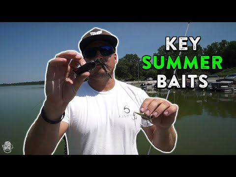 Catching Bass Shallow And Deep In Hot Summer Conditions