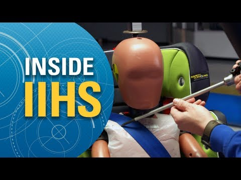 Inside IIHS: Rating booster seats