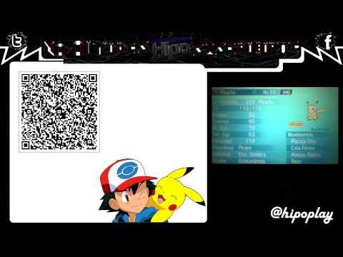 Terminado code qr pikachu de ash pokemon xy oras youtube