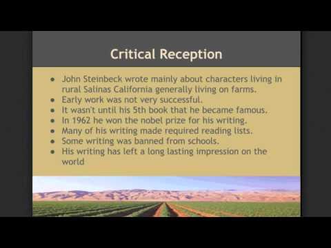 John Steinbeck Short Story Project