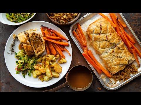 Vegan Wellington | VEGETARIAN VEGAN CHRISTMAS RECIPE