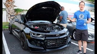 Why is this the BEST muscle car? 2018 Hennessey Exorcist Camaro ZL1 - Raiti