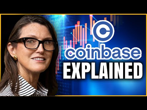 Cathie Wood Explains Why Coinbase Will Be Unstoppable! + ARK Invest Bitcoin ETF?!