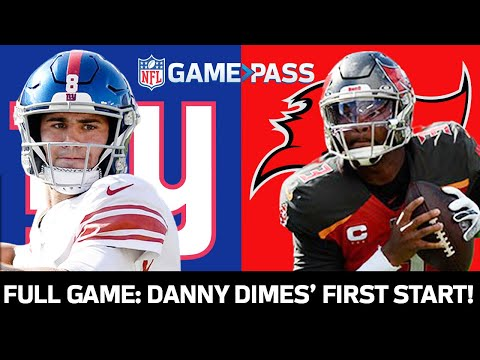 New York Giants vs. Tampa Bay Buccaneers Week 3, 2019 FULL Game: Danny Dimes' First Start!