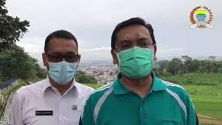 Ketua DPRD Kota Bandung, Tedy Rusmawan mengunjungi kawasan Sekemala Integrated Farming (SEIN Farm)
