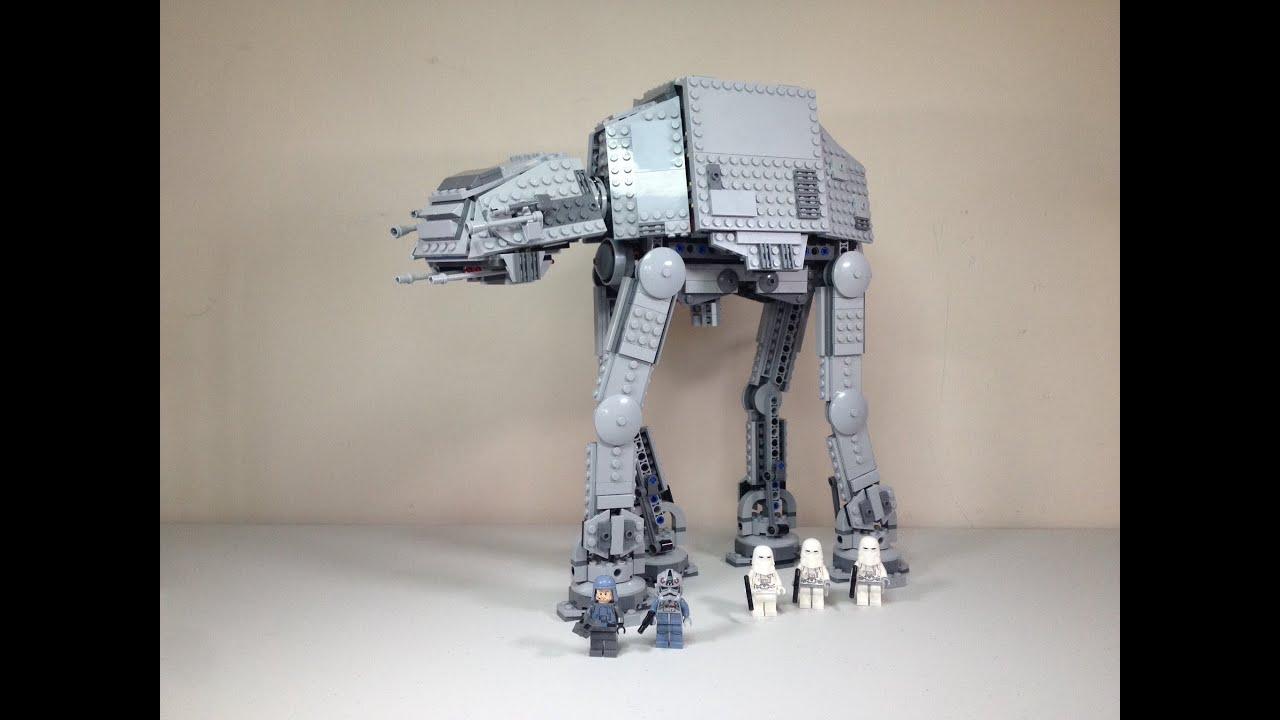 Lego star wars at at set 75054 full review summer 2014 - Bd lego star wars ...