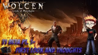 Wolcen Lords of Mayhem - T1 Beta - First Look