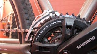 Как настроить передний переключатель велосипеда(Замена каретки на велосипеде, как снять шатуны, как снять каретку https://youtu.be/eBikhg3N154 Ответы на вопросы Как..., 2015-06-10T13:14:59.000Z)