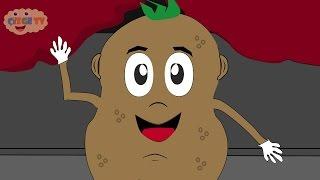 Patates Adam (Yüz) - Çizge TV - Çizgi Film - Çocuk Şarkıları