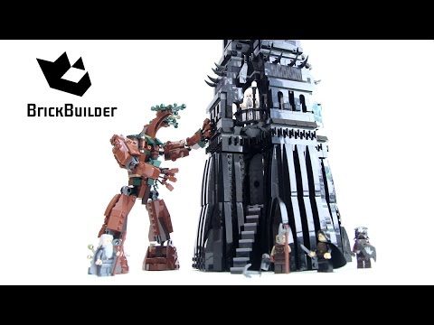 Lego Lotr 10237 The Tower Of Orthanc Lego Speed Build Youtube