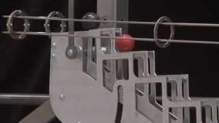 Rolling ball sculpture