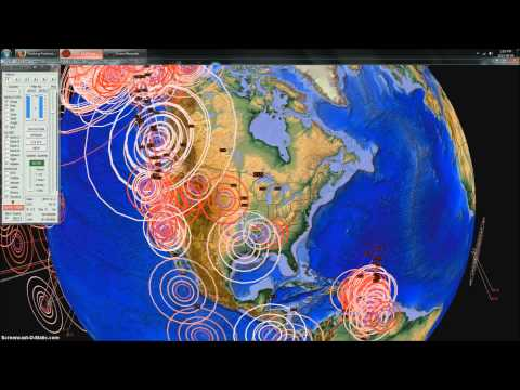 9/4/2013 -- Global Earthquake Overview - Major unrest over past week