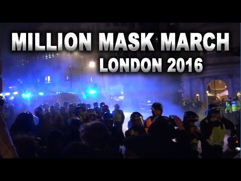 Million Mask March London 2016