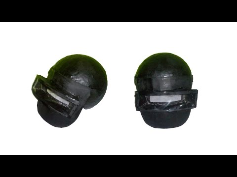 How to make PUBG Helmet with paper | level 3 helmet