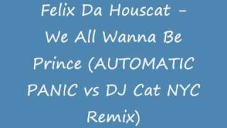 Felix Da Housecat - We All Wanna Be Prince (AUTOMATIC PANIC vs DJ Cat NYC Remix)