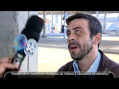 JMD (28/06/18) - Planilha De Férias No Transporte Coletivo
