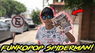 VAMOS POR EL FUNKO POP DE SPIDERMAN PS4!/ UNBOXING - IVANSPIDEY