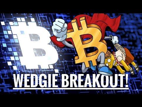 Bitcoin Wedgie Breakout!