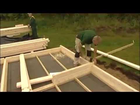 видео: Сборка/установка и монтаж деревянной беседки - садового дома для сада от terra-2000