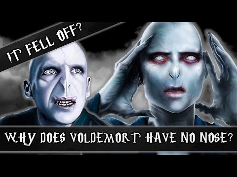 Why Does Voldemort Have No Nose?