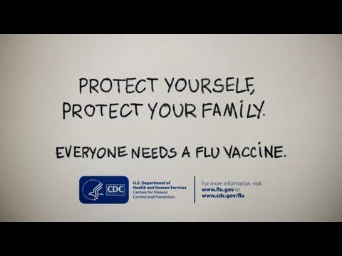 Everyone needs a flu vaccine!
