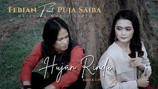Febian & Puja Saiba - Hujan Rindu (Official Music Video) | Lagu Slow Rock Melayu Terbaru