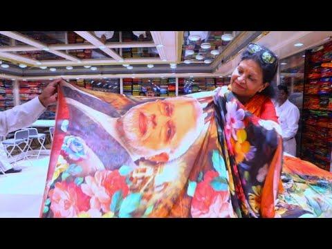'Modi sari' flies off shelves as India poll fever grows