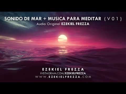 SONIDO DE MAR, ONDAS ALFA 4 Hz, Binaurales, MEDITACIÓN, RELAJACIÓN, MELATONINA, GLÁNDULA PINEAL