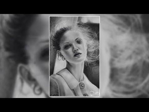 Портрет девушки/ Художник Tetti Do/графика/портреты на заказ