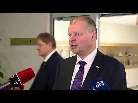 Tiesiogiai: balsavimas dėl Sinkevičiaus kandidatūros į Europos Komisiją