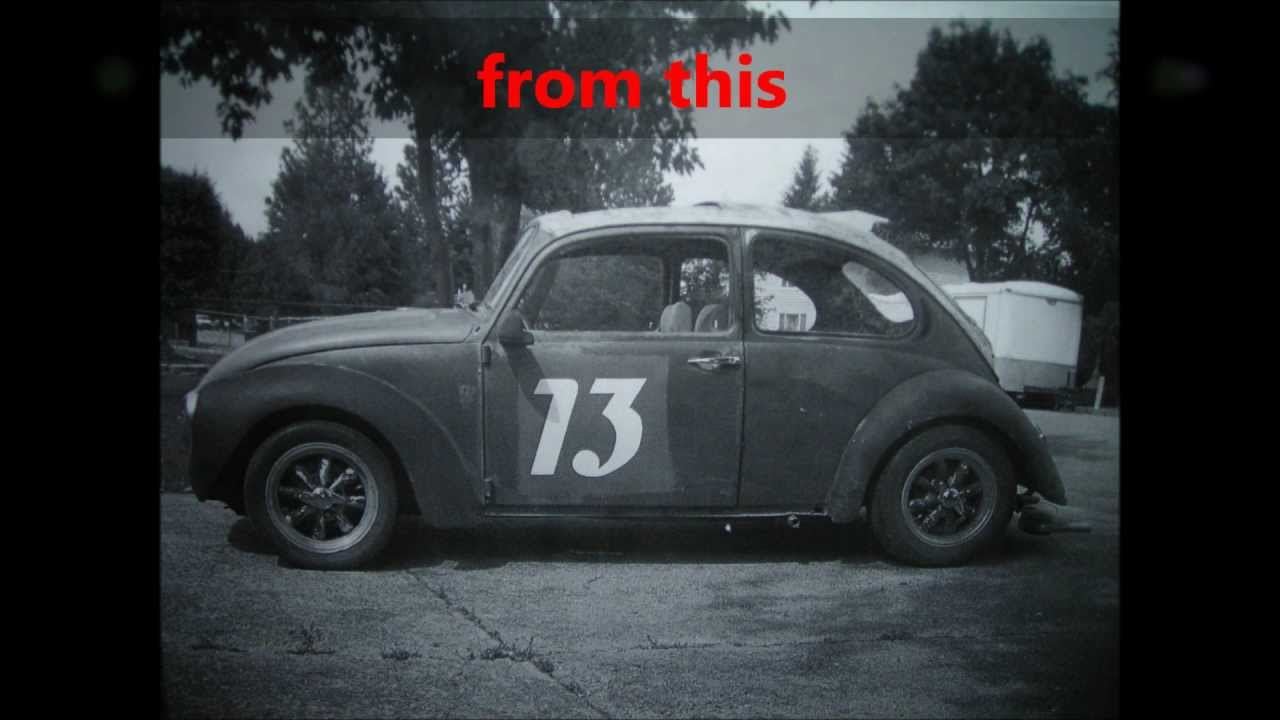 vw beetle bonneville chop top project ( PART 1 ) - YouTube
