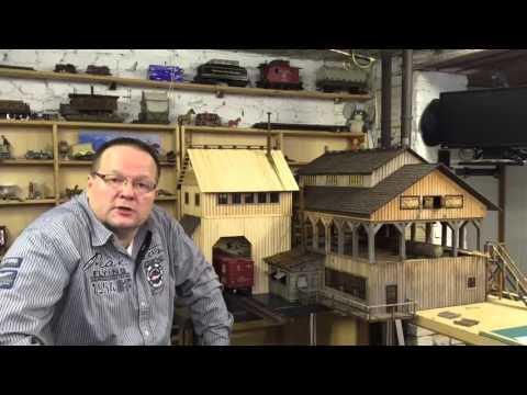 Das Verladehaus - the loading house - LGB Gartenbahn Jens Handro