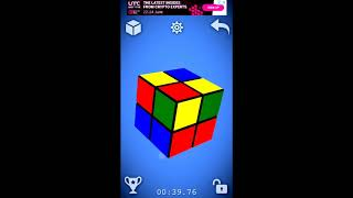Виртуальный кубик Рубика   3D симулятор кубика рубика на андроид? screenshot 2