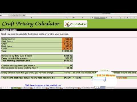 Free Craft and Jewelry Pricing Calculator