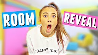 REDECORATED ROOM REVEAL!!   My reaction to the bedroom and studio makeover!