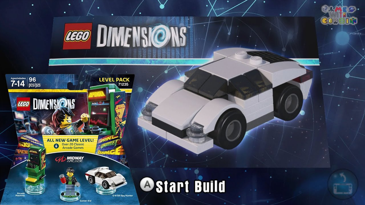 Lego Dimensions G 6155 Spy Hunter Car Build