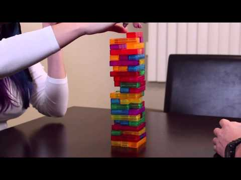 TETRIS JENGA - Husband vs Wife