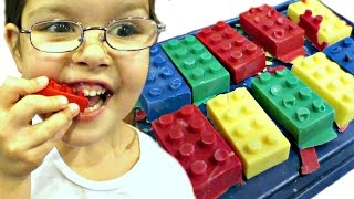 LEGO Eating!