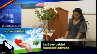 La Generosidad   Educación fundamental