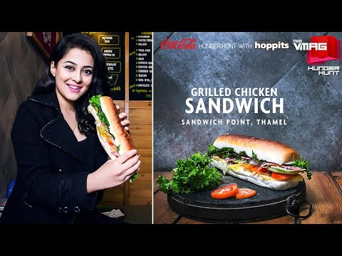 The Anytime Sandwich | Sandwich Point Thamel | Coca-Cola Hunger Hunt with Hoppits