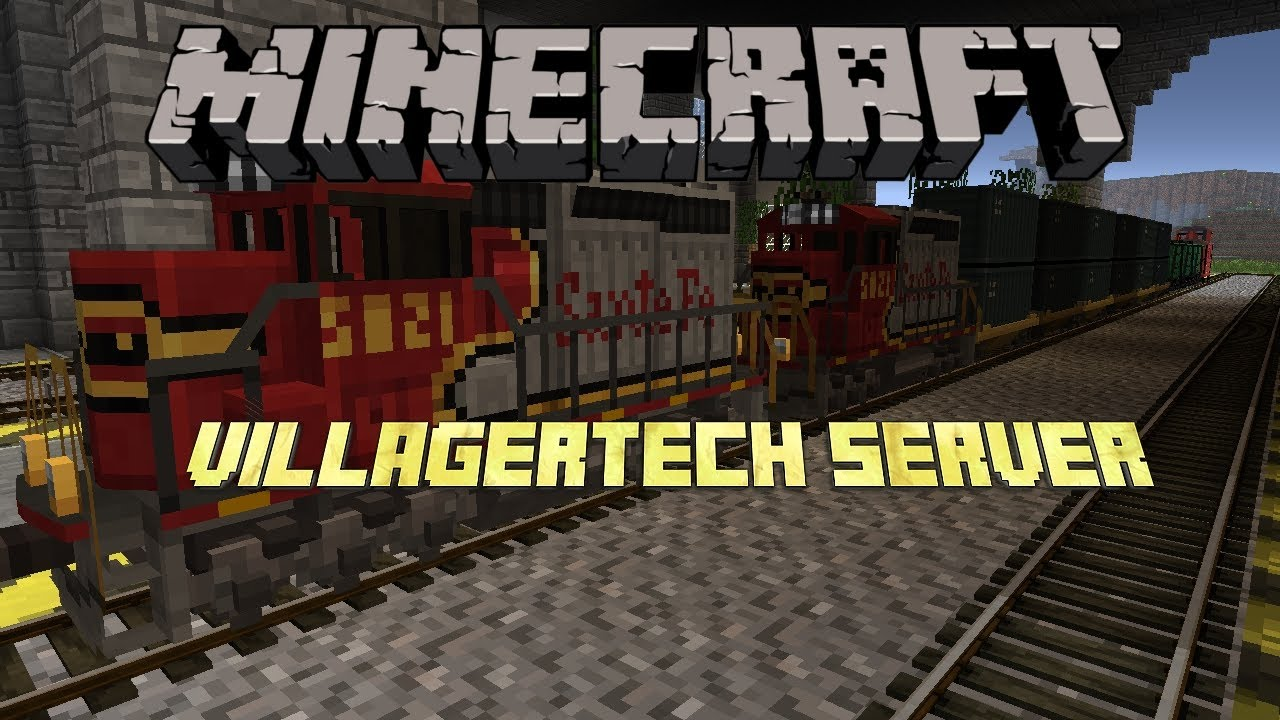 Traincraft Server 1 7 10 - Villagertech