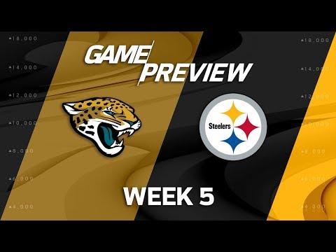 Jacksonville Jaguars vs. Pittsburgh Steelers   Week 5 Game Preview   NFL