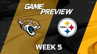 Jacksonville Jaguars vs. Pittsburgh Steelers | Week 5 Game Preview | NFL