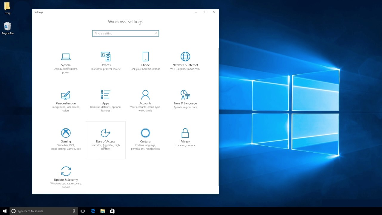 How To: Activate Eye Control in Windows 10 with Tobii Eye Tracking