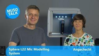 Mikrofon Modelling Sphere L 22 VS Neumann U 87ai - Angecheckt